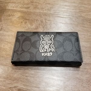 Coach X Keith Haring Phone Holder Wallet